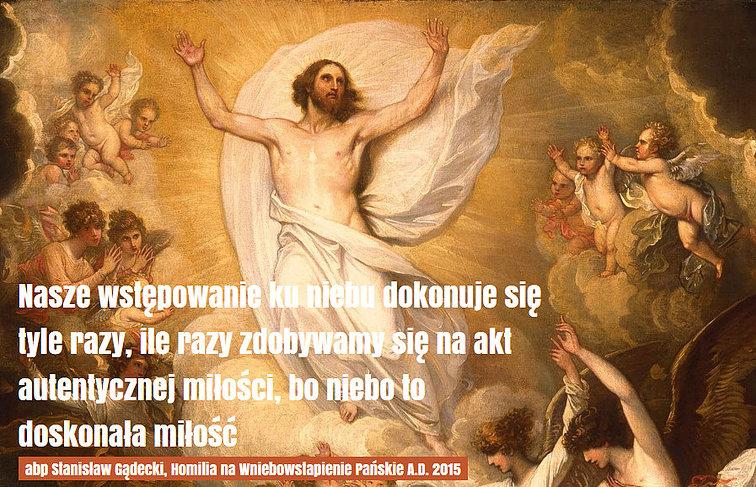 Uroczystość Wniebowstąpienia Pańskiego – Ustanowiony.pl